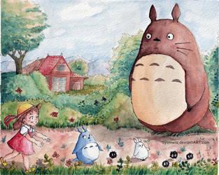Totoro by Syonnela