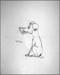 Max Caricature by KWilliamsPhoto