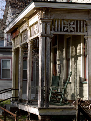 The Old Porch by KWilliamsPhoto