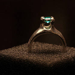 emerald ring by davesbit