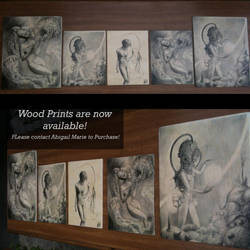Wood Prints are now available! by Artist-AbigailMarie