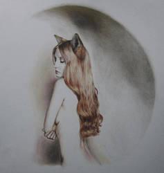 Fox Woman by Artist-AbigailMarie