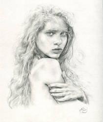 Portrait of a woman by Artist-AbigailMarie