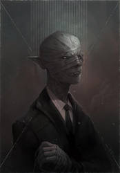 Paint a Horror Portrait Class by damie-m