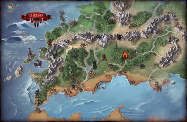 Map - Cheliax by damie-m