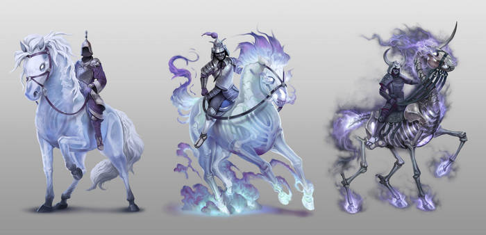 Ashes - The Ghost Guardian Mounts by damie-m