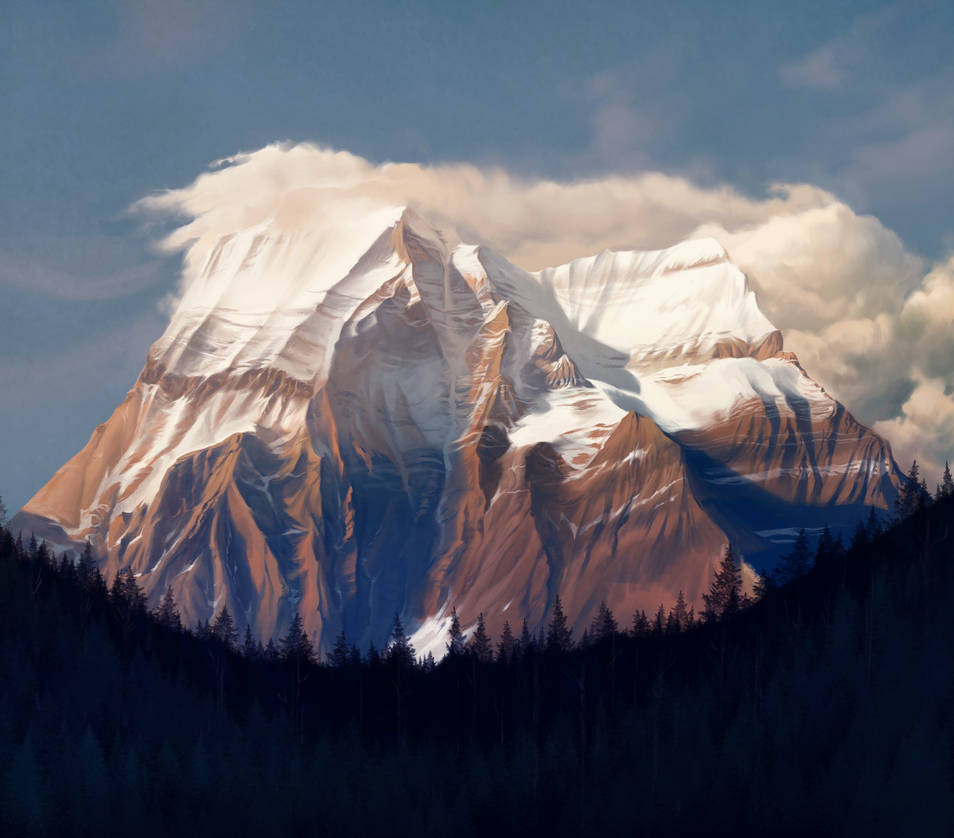Mt. Robson by damie-m