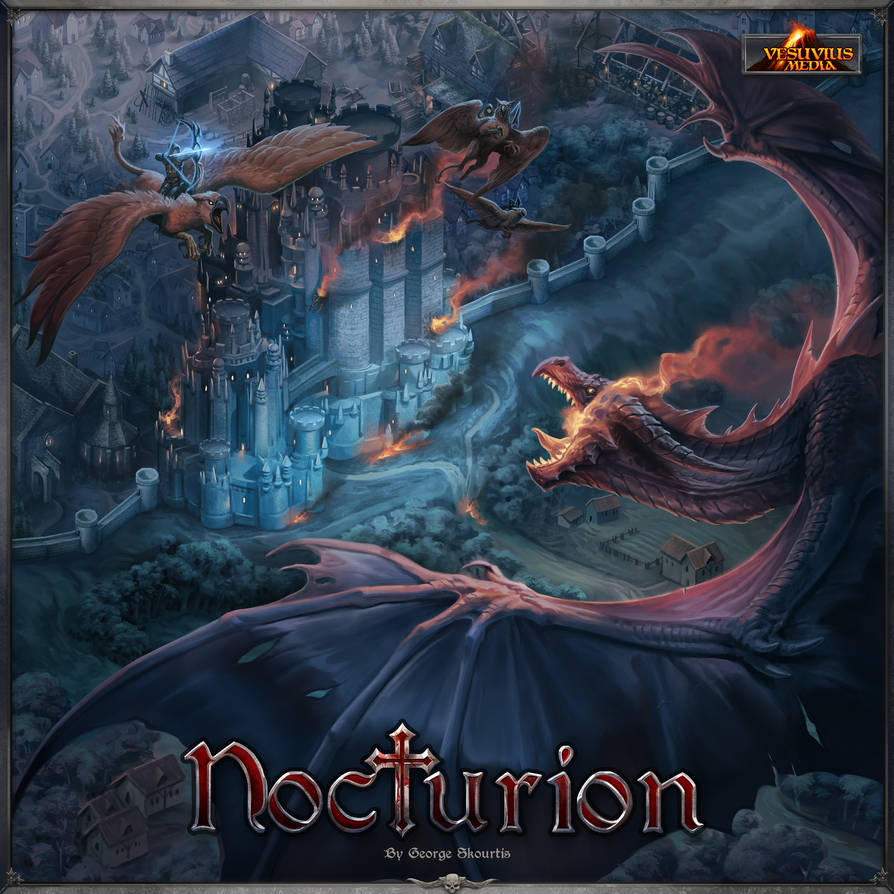 Nocturion Cover Art by damie-m