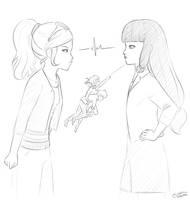 chloe and lila by Elaienar