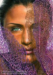 Helena Christensen / colored pencils by LMan-Artwork