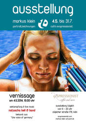 Vernissage in Cologne 4th of May 2014 by LMan-Artwork