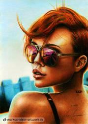 Miri Be (Colored Pencil Drawing) by LMan-Artwork
