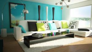 Living Room by MangoTangoFox