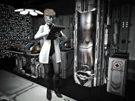 In the Cloning Facility of Dr. Rose by MollyFootman