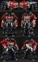 Custom Cyberverse Optimus Prime by Solrac333
