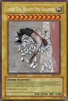 L4D Louis Yu-Gi-Oh Card by bobdolefrigginrocks