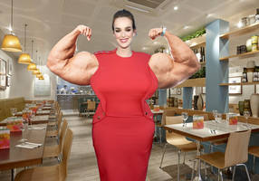 Hulking Jemma Simmons by Grimmtoof
