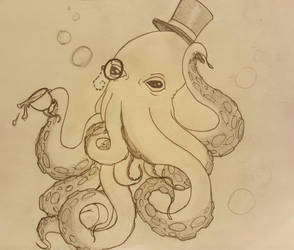 Sir Octopus by pyperhaylie