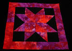 Christmas Eve Star Quilting 2011 by LadyAliceofOz