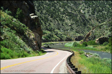 Along the river on Highway 50 West... by LadyAliceofOz