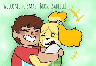 Isabelle for Smash! by PixelQuartz