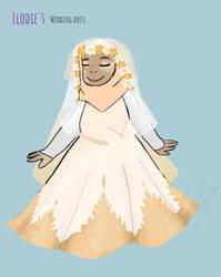 Elodie's wedding dress by PixelQuartz