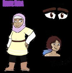 Elodie Huda Ref by PixelQuartz
