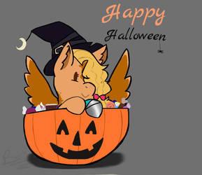 Happy Halloweenie by PixelQuartz