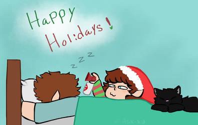 ''Wake up bitch it's Christmas'' by PixelQuartz