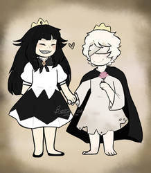 The Liar Princess and the Blind Prince by PixelQuartz