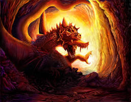 The RED DRAGON by agios