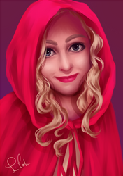 Red Riding Hood by MomoiroGirl