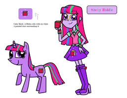 MLP: FiM/EG Fan Character - Sitchy Riddle by GoodVibes12345