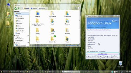 Longhorn pack for Linux WIP by jman6495