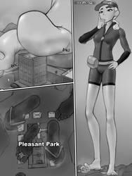 fortnite lifeguard skin: giantess comic part 2 by fooooly