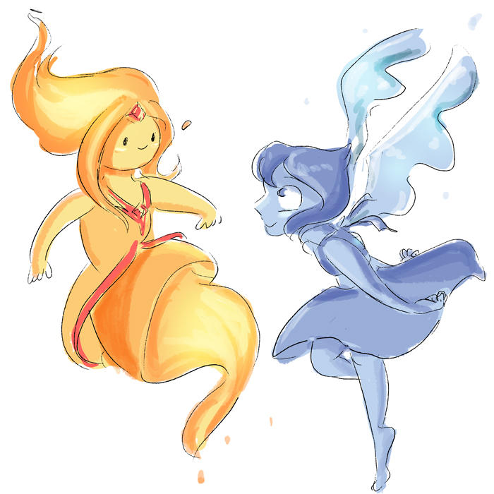 Flame Princess and Lapis Lazuli should be friends
