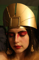 Kyoshi Headdress Avatar the Last Airbender Cosplay by JanasBazaar