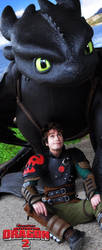 Hiccup - HTTYD - Tonight I found a Friend in you by EvilSephiroth89