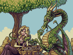 A Dragon and His Princess by mashpotato18