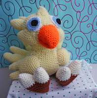 My Chocobo by tallis-designs