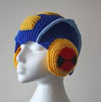 Megaman EXE Helmet by tallis-designs