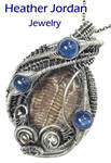 Brown Trilobite Fossil Wire-Wrapped Pendant by HeatherJordanJewelry