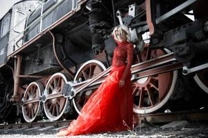 The Train by Indigostudio