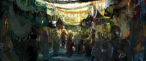 Market Jungle by dingding83