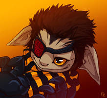 GW2 commission for Kira by PapaVego