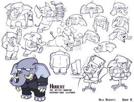 Hubert - Character Pack by Olive-Owl