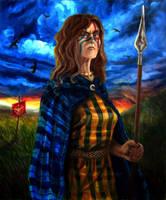 Warrior Women - Boudicca by FlamiatheDemon