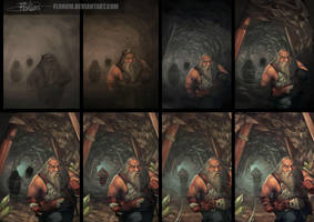 Dwarves - process by Flonum