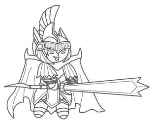 Sehetep - Dark Magician Knight by cksp1d