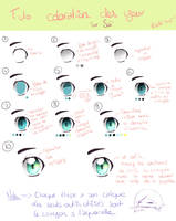 Eyes coloration Tutorial (in english below) by Yellow-Lili